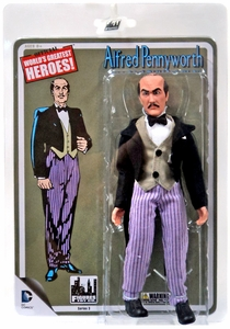 Batman Retro 8 Inch Series 3 Action Figure Alfred New!