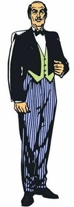 Batman Retro 8 Inch Series 3 Action Figure Alfred Pre-Order ships March
