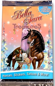 Bella Sara Horses Trading Card Game Series 8 Treasures Booster Pack