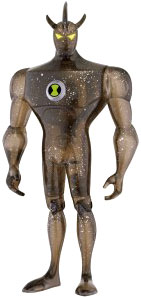 Ben 10 LOOSE 4 Inch Action Figure Alien X
