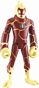Ben 10 LOOSE 4 Inch Action Figure Heatblast [Version 1]