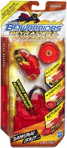 Beyblades Beywarriors Beyraiderz Starter Pack Power Br-01 Samurai Ifrit TT-19