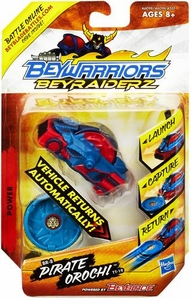 Beyblades Beywarriors Beyraiderz Vehicle Power Br-8 Pirate Orochi TT-19