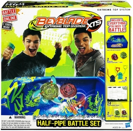Beyblades Extreme Top System Half-Pipe Battle Set [Pegasus Jumper & Kerbecs Blade Blast]