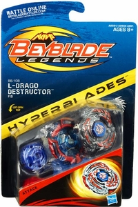 Beyblades Legends Hyperblades Attack #BB-108 L-Drago Destructor F:S New!