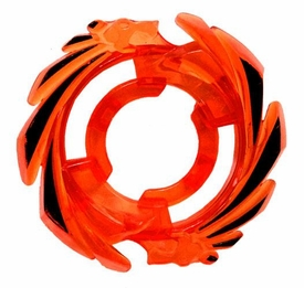 Beyblades Metal Fusion LOOSE Parts Energy Ring Herculeo [Trans Orange with Black]