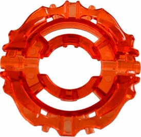 Beyblades Metal Fusion LOOSE Parts Energy Ring Sagittario [Trans Orange]