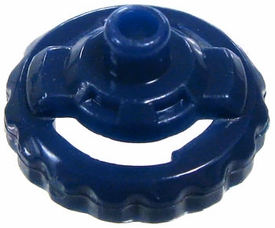 Beyblades Metal Fusion LOOSE Parts Performance Tip Hole Flat [Navy Blue]