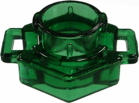 Beyblades Metal Fusion LOOSE Parts Spin Track Low Profile 100 [Trans Dark Green]