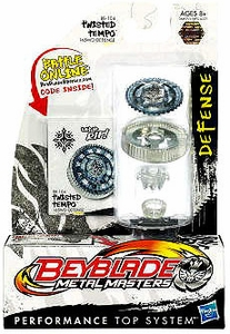 Beyblades Metal Masters Defense Battle Top #BB104 Twisted Tempo