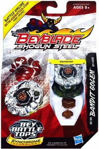 Beyblades Shogun Steel Defense SS-20 Bandit Golem DF145BS