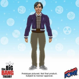 Bif Bang Pow! Big Bang Theory Retro Style Action Figure Raj Pre-Order ships September