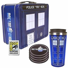 Bif Bang Pow! Doctor Who 2013 SDCC San Diego Comic-Con Exclusive Tin Tote Gift Set