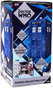 Bif Bang Pow! Doctor Who Collectible Tardis Set with K9