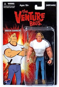 Bif Bang Pow! Venture Bros. 3.75 Inch Action Figure Brock Samson