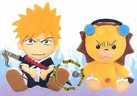 Bleach 9 Inch Plush Figure Set Ichigo Kurosaki & Kon BLOWOUT SALE!