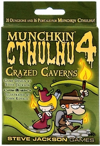 Board Game Munchkin Cthulhu Expansion Pack Crazed Caverns