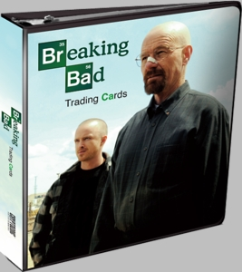 Breaking Bad Cryptozoic Trading Card Binder New!