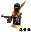 Brickarms Official Custom Mini Figure Mr. Black New!