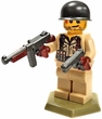 Brickarms Official Custom Mini Figure US WW2 Soldier Sgt. Evans [Version 2] New!