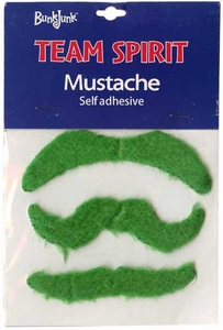 Bunkjunk Camp Color War Team Spirit Mustache Green