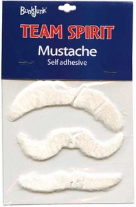 Bunkjunk Camp Color War Team Spirit Mustache White
