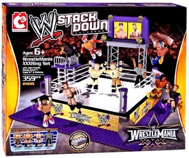 C3 WWE Wrestling StackDown Set #21035 WrestleMania 30 Ring