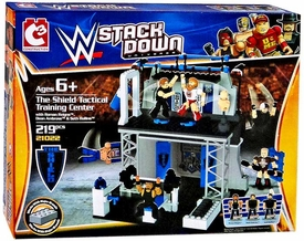 C3 WWE Wrestling StackDown Set #21022 The Shield Tactical Training Center New!