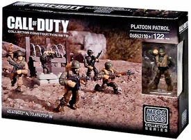 Call of Duty Mega Bloks Exclusive Set #06862 Platoon Patrol New!