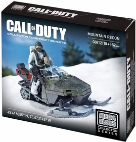 Call of Duty Mega Bloks Set #6812 Mountain Recon