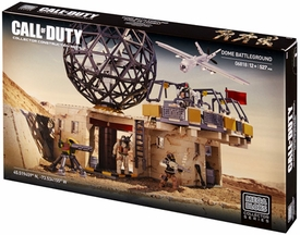 Call of Duty Mega Bloks Set #6818 Dome Battleground Damaged Package, Mint Contents!