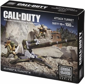 Call of Duty Mega Bloks Set #06819 Turret Attack New!