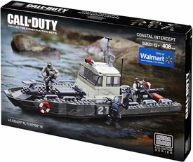 Call of Duty Mega Bloks Exclusive Set #06820 Coastal Intercept New!