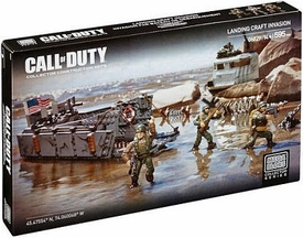 Call of Duty Mega Bloks Set #6829 Landing Craft Invasion