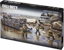 Call of Duty Mega Bloks Set #06829 Landing Craft Invasion New!