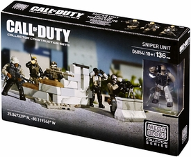 Call of Duty Mega Bloks Set #6854 Sniper Unit