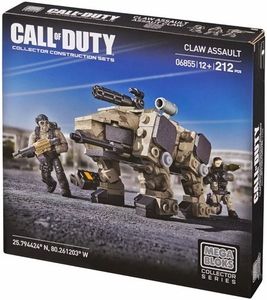 Call of Duty Mega Bloks Set #6855 CLAW Assault