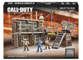Call of Duty Mega Bloks Set #6857 Mob of the Dead New!