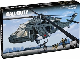 Call of Duty Mega Bloks Set #6858 Ghost Tactical Helicopter New Hot!