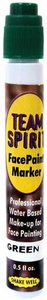 Camp Color War Team Spirit Face Paint Marker Green