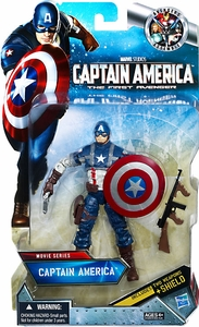 Captain America Movie Exclusive 6 Inch Action Figure Captain America
