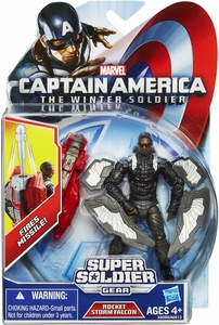 Captain America The Winter Soldier 3.75 Inch Action Figure Falcon [Rocket Storm] New!