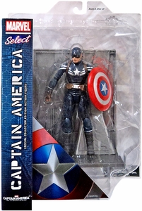 Captain America The Winter Soldier Marvel Select Action Figure Captain America