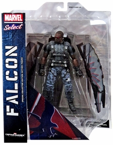 Captain America The Winter Soldier Marvel Select Action Figure Falcon Hot! Pre-Order ships August