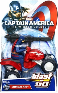 Captain America The Winter Soldier Quick Launch Vehicle Combat ATV New!