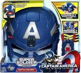 Captain America The Winter Soldier Roleplay Super Soldier Gear Battle Helmet