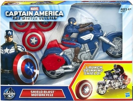 Captain America The Winter Soldier Vehicle Shield Blast Motorcycle New!