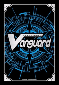 Cardfight!! Vanguard Card Supplies Japanese Size Card Sleeves Card Back Logo [55 Count]