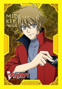 Cardfight!! Vanguard Card Supplies Japanese Size Card Sleeves Kenji Mitsusada [53 Count]