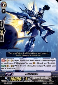 Cardfight Vanguard Champions of the Cosmos Single Card Common EB08/019 Eisenkugel
